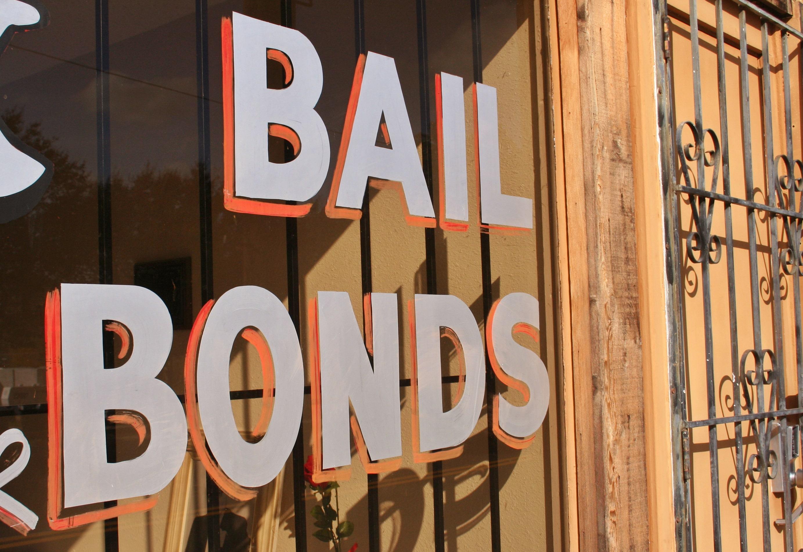bail bond lettering