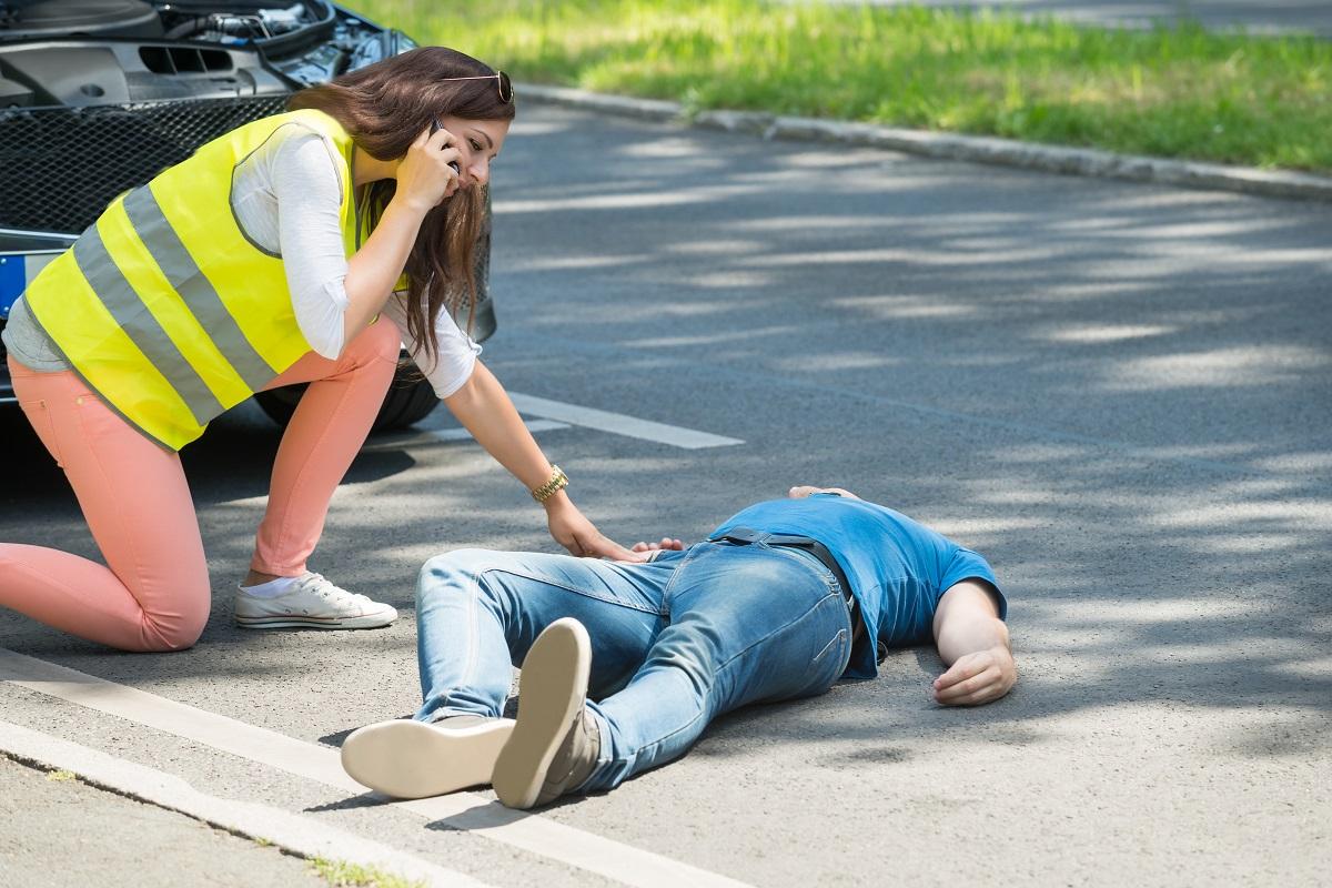 Man got into an accident