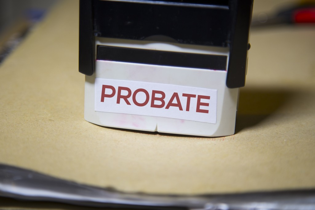probate on a stamp