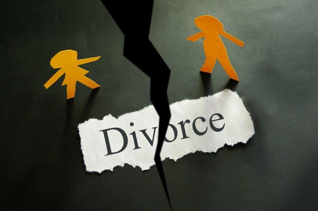 divorce concept